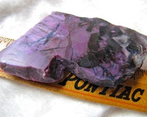 Beautiful Large Sugilite Rough Slab Natural Royal Purple Healing light/ Violet Flame Stone