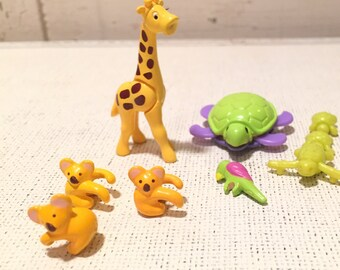 Vintage Polly Pockey animals