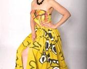 The Graffiti Etch Dress