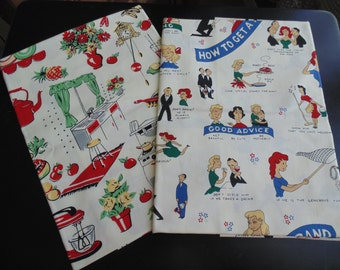 Retro Material from Michael Miller Sewing Scrapbook Crafts New