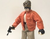 "12"" Star Wars Figure, Ponda Baba with Blaster Pistol & Removable Arm - Star Wars Cantina Alien, 12"" Star Wars Doll in Unopened Original Box"