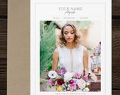 Photography Welcome Packet | Wedding Photography Magazine Template - Marketing Set Templates - Pricing Guide - Price List Templates - m0279