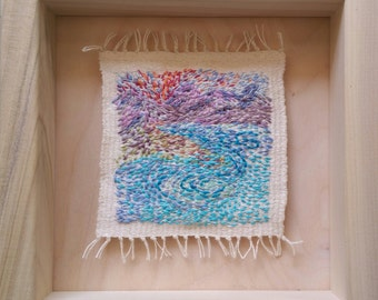 Psalm 19, Tiny Mixed-Media Tapestry