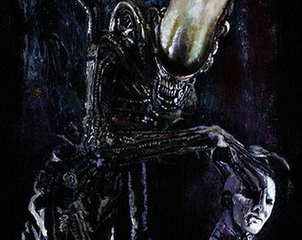 Alien Limited Edition Art Print
