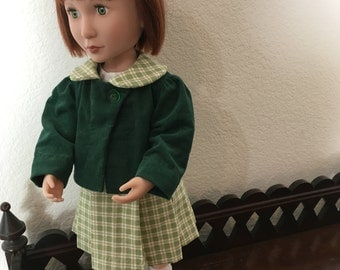 Two piece outfit for 16 inch doll