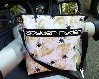 Can-am Spyder Ryder Crossbody Bag with adjustable strap