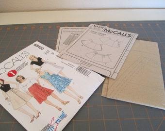 McCalls Pattern 5430 -1 Hour Skirt