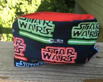 Star Wars Fabric Makeup Bag, zippered pouch