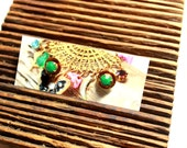 Petite Post Earrings - Rhinestone Earrings - Bridesmaid Earrings