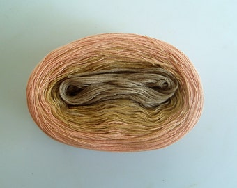 SANDPIPER II  Color Changing Cotton yarn  480 yards/100 gr  Fingering Weight