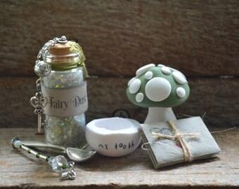 Tooth Fairy Kit - Vintage Moss