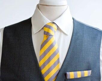 Necktie, Neckties, Mens Necktie, Neck Tie, Mens Necktie, Groomsmen Necktie, Ties, Tie, Groomsmen Gift, Wedding Neckties - Modern Stripe