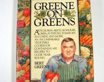 Greene on Greens vintage cookbook Vegetables Recipes