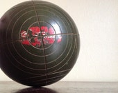 Vintage Sportcraft Single Bocce Ball. Made in Italy.
