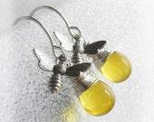 Bee- Bee Earrings- Bee Jewelry-Honey Bee Jewelry- Bumble Bee Earrings- Beekeeper- Luna Jewelry