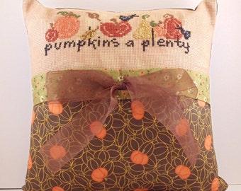 Pumpkins A Plenty Pillow