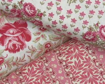 Peach Quilt Kit-Cottage Chic Fabrics-3 yards Fabric-Gorgeous Decor