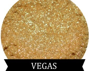 VEGAS Sparkle Gold Eyeshadow 3 Gram Jar Makeup