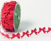 Bows Ribbon - Red - 1 inch  - You Choose Yards
