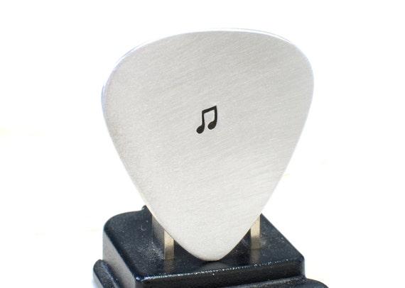Aluminum Guitar Pick Handmade for the Serious Musician - GP712