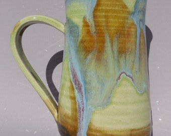 Open Plains Rains II -- 13 ounce  - Tea Mug - Hot Chocolate Cup - Coffee Cup