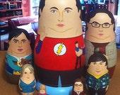 The Big Bang Theory Matryoshka Dolls