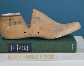 Antique Wooden Shoe Form