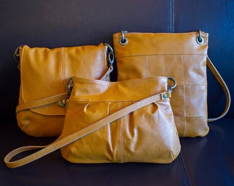 20% OFF! - 932 Three Leather Bags PDF Pattern Combo