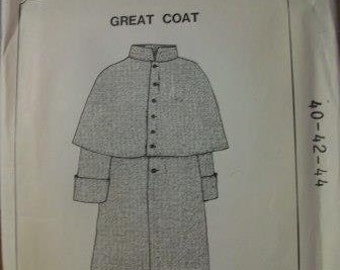 Great Coat Pattern
