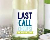 Last Call Cancer WIne Label