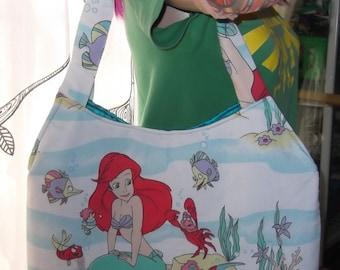 Little Mermaid- Ariel-  Vintage Disney Tote-OOak   Princess