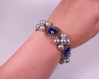 BIG Baubles Renaissance Tudor Bracelet Jewelry Medieval Anne Boleyn Costume