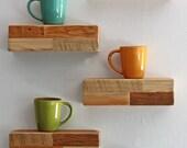 Modern Barn wood Floating Shelves