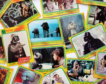 Vintage 1980 Star Wars The Empire Strikes Back Topps Series 3 Cards VGC / Lot of 44 Collectible Trading Picture Cards / More Available