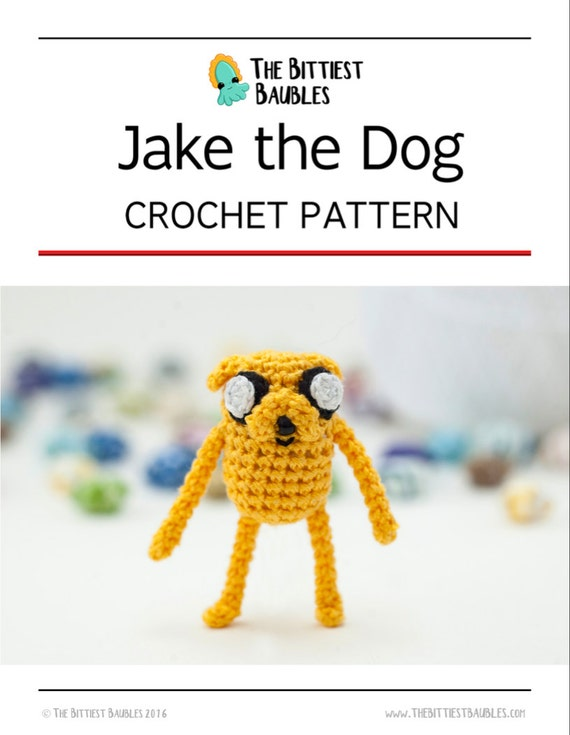Crochet Pattern Jake the Dog