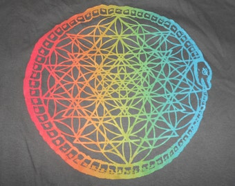 T-Shirt - Seal of Ouroboros (Rainbow)