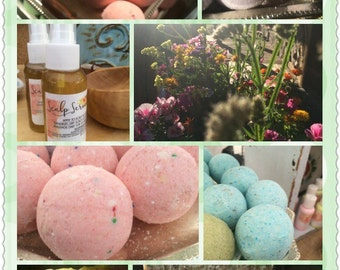 Special Gift Set sale for Adrienne! All Natural Vegan Shea Butter decorative fragrant earthy Heavens Signature