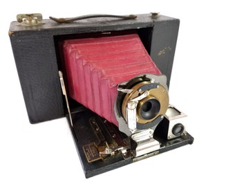 Kodak No. 3 Folding Brownie Camera Model D from 1910's - Great Condition