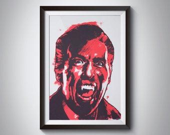 Christopher Lee 'King of Horror' Art Print