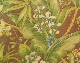 Tommy Bahama, TROPICAL FLORAL, drapery upholstery fabric, 07-57-12-0212