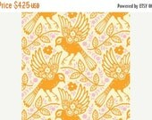 SuperBowl Sale Up Parasol, from Heather Bailey and FreeSpirit/Westminster fabrics, Meadowlark Tangerine, 1/2 yard total