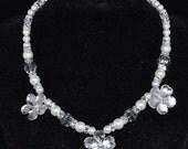 RESERVED for Joy - Sakura Cherry Blossom Necklace and Bracelet