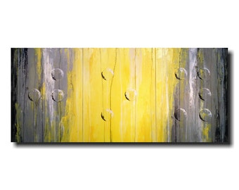Original Large Abstract Braille painting - 24 X 54 Inches-by Artist JMJartstudio- Joy -Wall art-wall decor