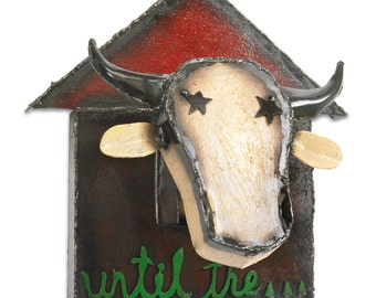 Until the Cows Come Home Wall Sculpture Metal Wall Art