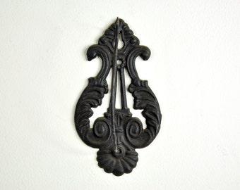 Cast Iron Wall Hook Receipt Holder, Antique Receipt Spike