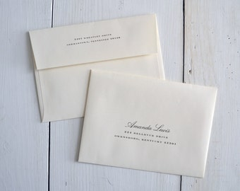 Guest Addressing of Envelopes by JPress Designs- Printed Envelopes, guest address, wedding envelopes, professional printing, wedding address