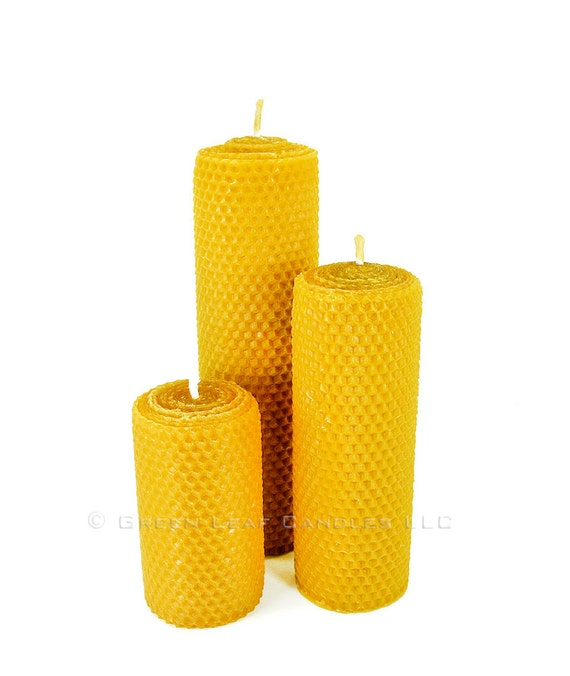 Artisan Beeswax Candle Set