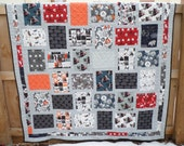 Star Wars The Force Awakens Twin Quilt - Handmade