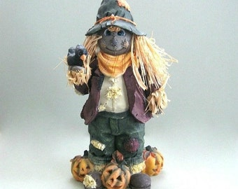 Halloween Scarecrow Decor Halloween Decoration Fall Scarecrow Fall Decoration Pumpkin Scarecrow Autumn Decoration Fall Harvest Spooky Scary