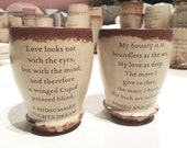 Vintage Pair of Lover's CUPS from Shakespeare